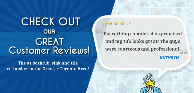 Bathroom Refinishing Customer Reviews