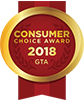 Consumer Choice Award 2018 GTA